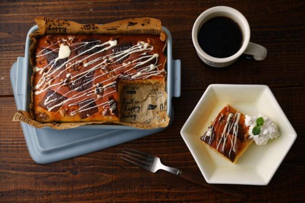 グリラーでスイーツも!簡単「カフェ風スコップパンケーキ」レシピ