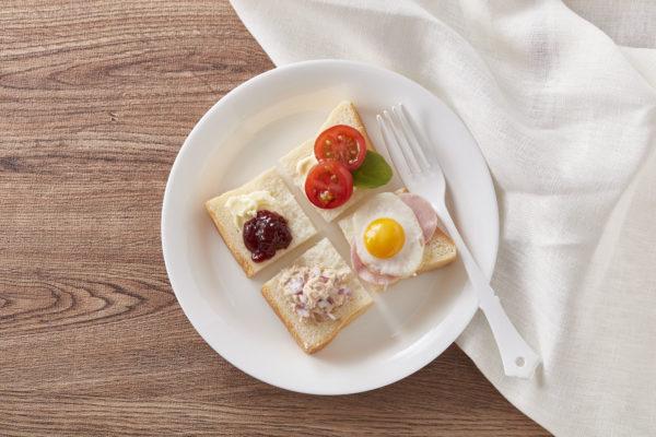 食パンアレンジアイデア「朝食の基本、欲張りのせ!」