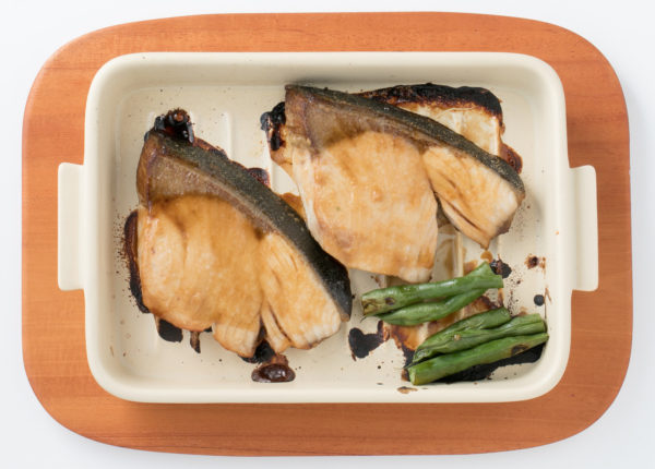 3.魚焼きグリルでつくる「ブリの照り焼き」のグリラーレシピ