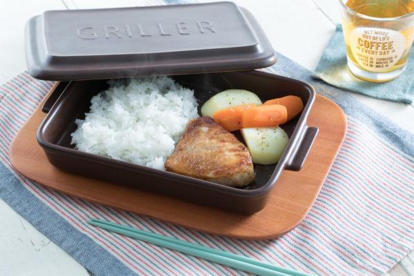 《おまけ》グリラーとトースターを使った「ワンプレート」の温め直し方
