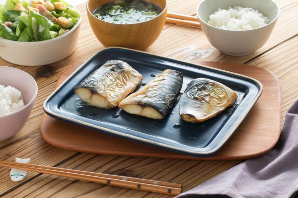 6.魚焼きグリルでつくる「塩サバ」のグリラーレシピ