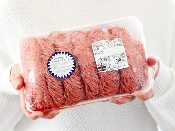 コストコの合挽肉