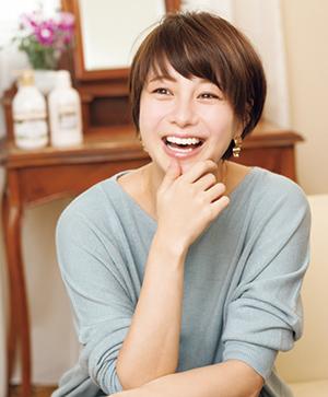 モデル 田中美保さん