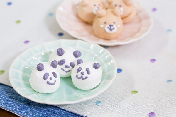 メレンゲクッキー キャラクター レシピ