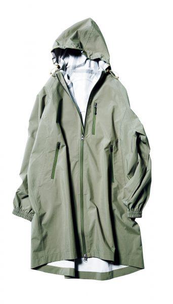 ワークマン 【高撥水フーデットロング】¥2,637