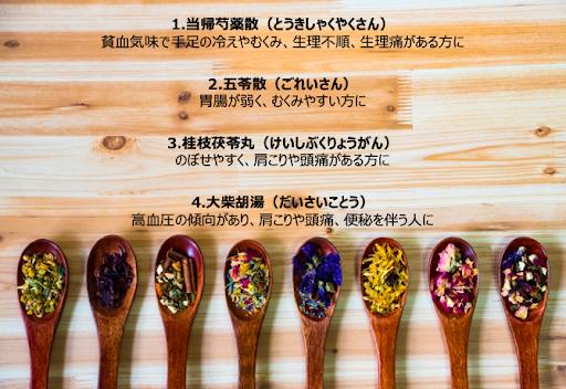 ダイエットにおすすめな4つの漢方薬。当帰芍薬散、五苓散、桂枝茯苓丸、大柴胡湯