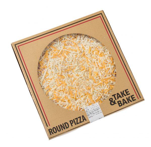コストコ丸形ピザ「5色チーズ」