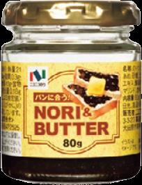 ニコニコのり バター