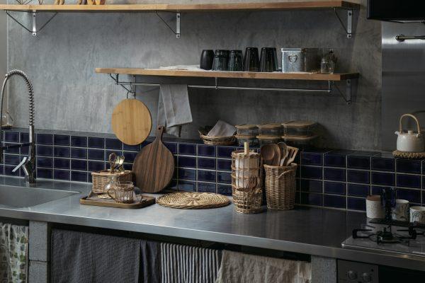 スリーコインズ2021年4月のおすすめ新商品:ナチュラル素材のキッチン雑貨の集合写真