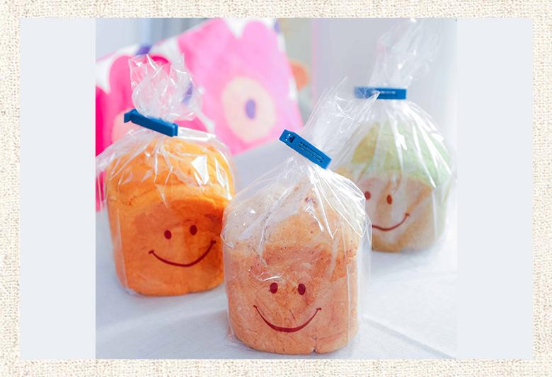 食パンは専用袋で可愛く保存♪